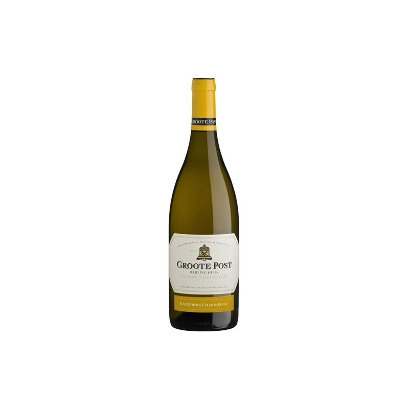 Buy Groote Post Kapokberg Chardonnay 2018 • Order Wine