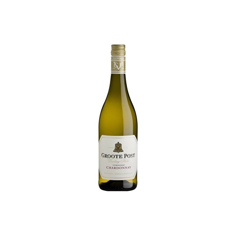 Buy Groote Post Unwooded Chardonnay 2019 • Order Wine