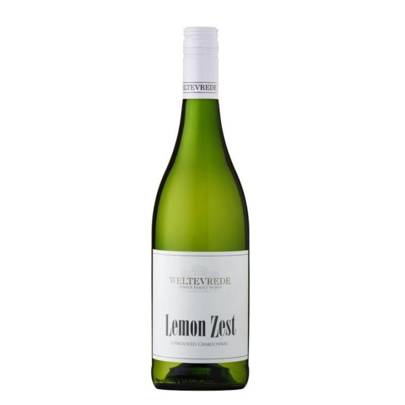 Buy Weltevrede Lemon Zest Unwooded Chardonnay 2019 • Order Wine