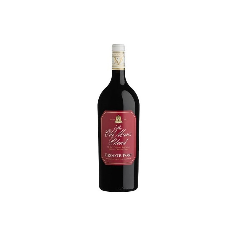 Buy Groote Post Old Man's Red Magnum 2017 • Order Wine